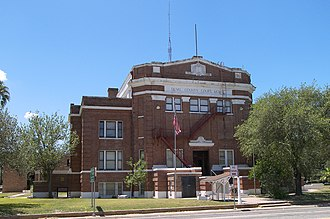 Duval County, Texas - Image: Duval courthouse