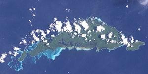Dyaul Island - Dyaul (Landsat)
