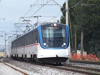 İZBAN commuter rail