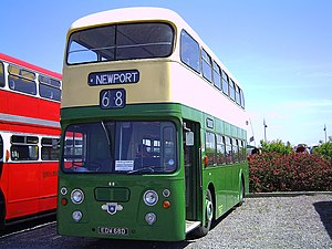 Leyland Atlantean - Preserved Newport Transport Alexander bodied Atlantean in 2004