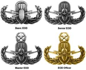 EOD Warfare Badges