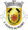 Vlag van Santo Vicente do Pigeiro