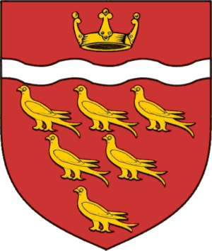 Coat of arms of Sussex - Coat of arms granted to East Sussex County Council in 1975