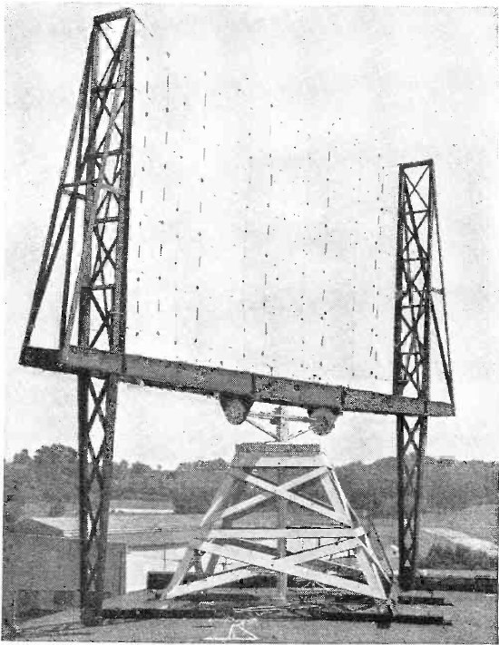 Early radar antenna - US Naval Research Laboratory Anacostia