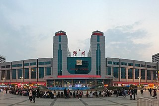 Zhengzhou railway station railway station