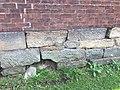 Ebenezer Chapel, WV - Original bricks and foundation.jpg