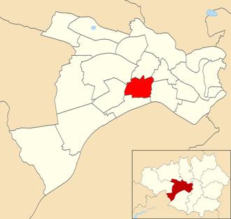 Eccles (ward) - Eccles ward within Salford City Council.