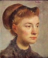 Portrait de jeune femme