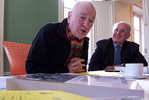 Jean-Louis Le Moigne - Edgar Morin and Jean-Louis Le Moigne.
