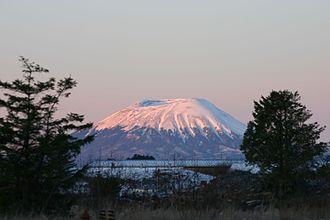 Mount Edgecumbe (Alaska) - Mount Edgecumbe in December 2004
