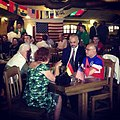 Edi Rama and Alexander Arvizu watching 2014 FIFA World Cup.jpg