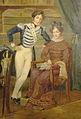 Edouard de Tocqueville et sa mère.jpg