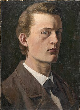 Edvard Munch - Autoportret - Google Art Project (533070)