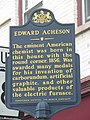 Edward Acheson birthplace marker 2.jpg