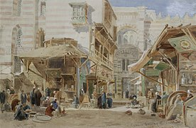Edward Angelo Goodall Copper market Cairo 1871