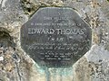 Edward Thomas memorial stone.jpg