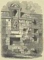 Edzell Castle, Compartment of the Garden Wall 1852.jpg