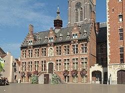 Eeklo, monumentaal stadhuis foto3 2011-10-03 12.51.JPG