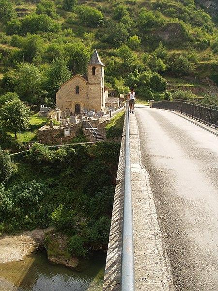Eglise Notre-Dame de l'Assomption - Saint Chély du Tarn - Gorges du Tarn (Lozère)