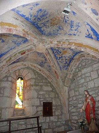Penne, Tarn - Interior of Sainte Catherine de Penne