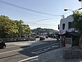 Ehime Prefectural Road No.21 in front of Imabari City Omishima Art Museum.jpg