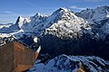 Eiger, Mönch and Jungfrau, Swiss Skyline, Birg, Schilthorn (Ank Kumar) 09.jpg