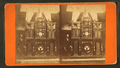 Eighth Wonder or Engle Clock, and builder, from Robert N. Dennis collection of stereoscopic views.png