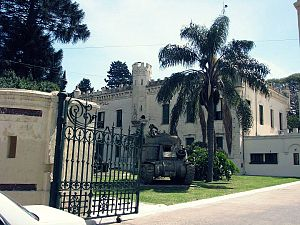 Tres de Febrero Partido - Museum of the Argentine Army, former military barracks in Ciudadela.