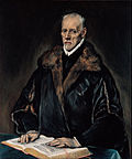 El Greco (Domenikos Theotokopoulos) - Portrait of Dr. Francisco de Pisa - Google Art Project.jpg