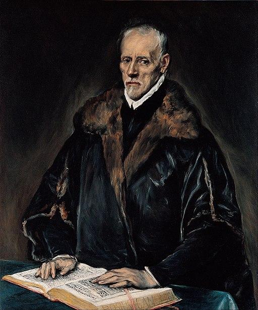 Portrait of Francisco de Pisa by El Greco