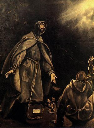 Stigmata - St. Francis of Assisi