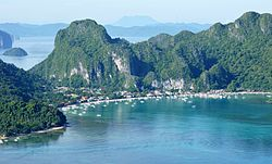 View of El Nido