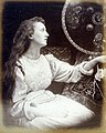 Elaine, the Lily Maid of Astolat, by Julia Margaret Cameron, M197400870006.jpg
