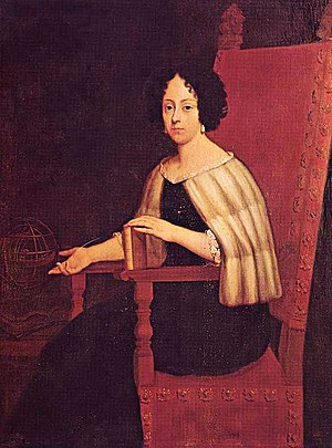 Seicento - A painting of Elena Cornaro Piscopia, the first female laureate and woman to receive a PhD in the world