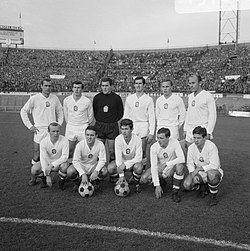Czechoslovak national football team (1966)[73]