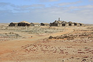 Ghost town in ǁKaras Region, Namibia