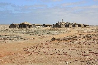 Elizabeth Bay, Namibia - Image: Elisabethbucht Namibia Geisterstadt