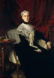John Singer Sargent: Ellen Peabody Endicott (Mrs. William Crowninshield Endicott)