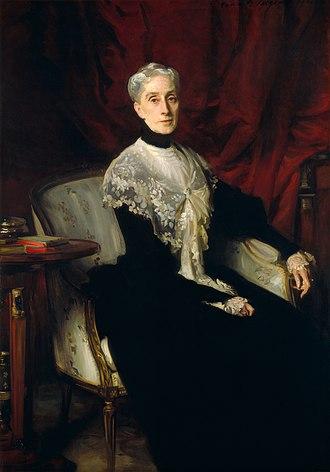 William Crowninshield Endicott - Ellen Peabody Endicott (Mrs. William Crowninshield Endicott), John Singer Sargent, 1901