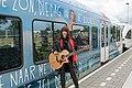 Ellen ten Damme voor haar eigen trein Winterswijk (9152616226).jpg