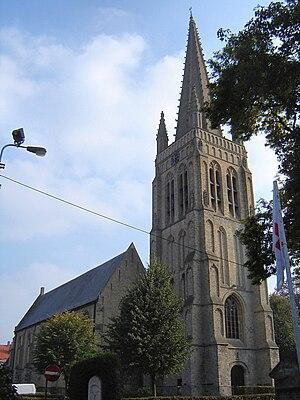 Elverdinge - The Saint-Peter and Paul Church