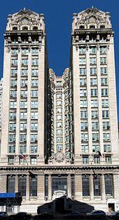 Emigrant Industrial Savings Bank Building Office skyscraper in Manhattan, New York