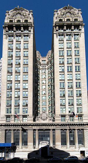 Emigrant Industrial Savings Bank building - Image: Emigrant Industrial Savings Bank 001 002 003 combined crop