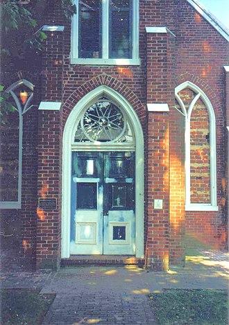 Emmanuel Episcopal Church (Port Conway, Virginia) - Image: Emmanuel Epis Port Conway VA