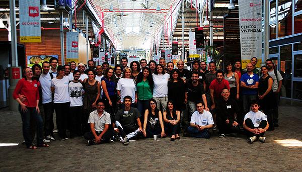 Encuentro Wikimedia Iberoamericano 2014 - Foto grupal