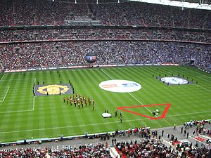 2007 FA Cup Final - The new Wembley Stadium before the match