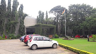 Indian Institute of Management Bangalore - Entrance to the Main Block at IIMB