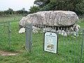 Entrance gate to Lligwy Burial Chamber-Siambr Gladdu Llugwy - geograph.org.uk - 951412.jpg