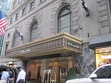 The Roosevelt Hotel Entrance
