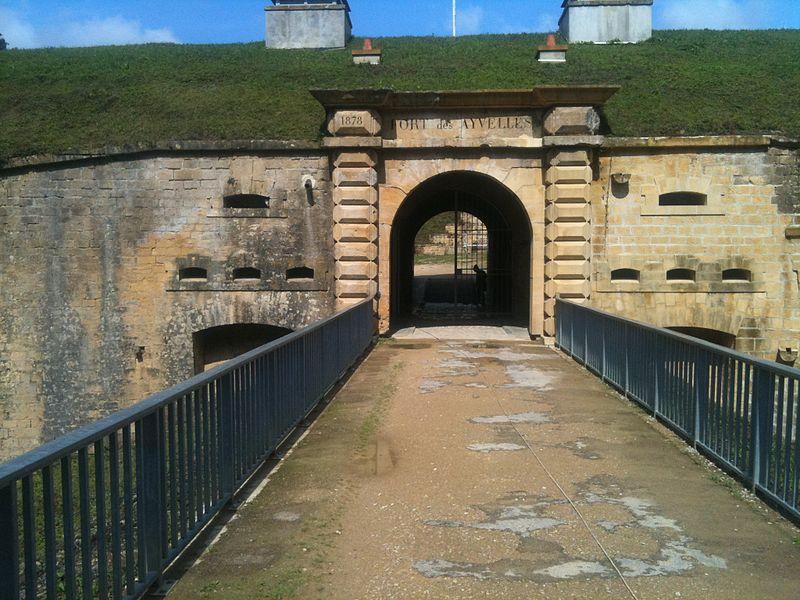 Entree Fort Ayvelles Ardennes France